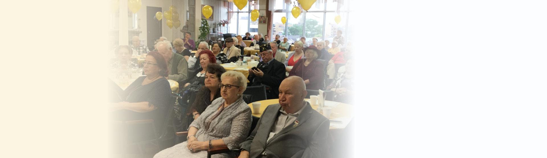 elderlies attending an occasion